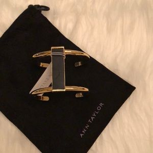 Ann Taylor Gold Cuff Bracelet
